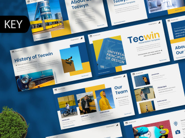 Tecwin Creative Keynote Template preview picture
