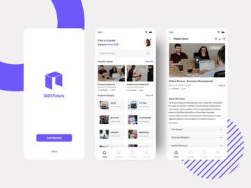 Ecourse App Concept preview picture