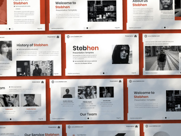 Stebhen Creative Keynote Template preview picture