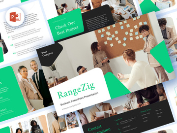 RangeZig PowerPoint Business Presentation preview picture