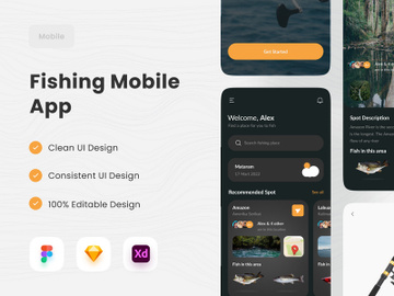 Fishing Mobile App 🐟 preview picture