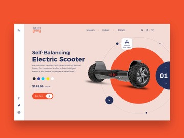 Online Hoverboard Store preview picture