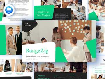 RangeZig Keynote Business Presentation preview picture