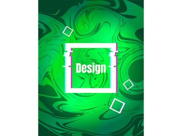 Grassy gradient retro futuristic style vector background preview picture