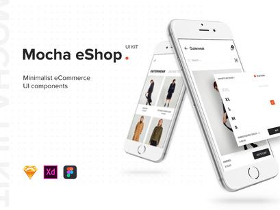 eShop Mobile App UI Kit by Freeslab88 ~ EpicPxls