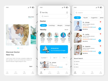 Doctor Finder Mobile Apps preview picture