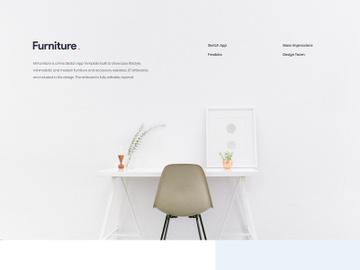 MI Furniture Free Sketch Template preview picture