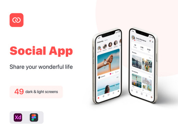 Social App iOS UI Kit 0 10 PREVIEW preview picture