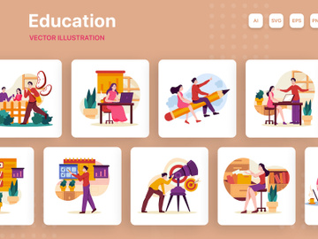 Education Illustrations preview picture