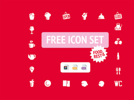 Food & Rest Free Icons preview picture