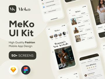 Meko Fashion UI Kits preview picture