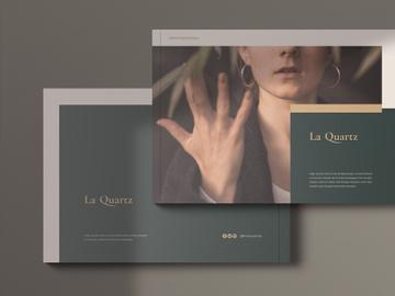 LaQuartz Lookbook Portfolio Brochure preview picture