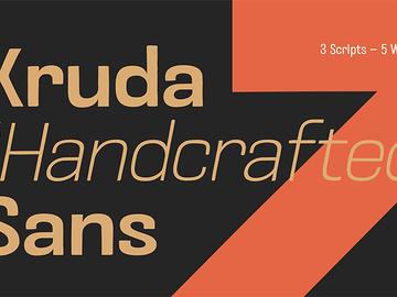 Kruda Sans Serif Demo preview picture