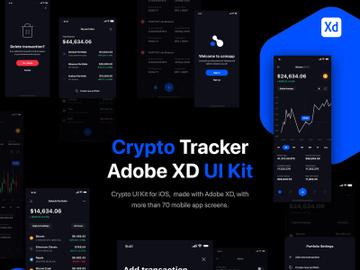 Crypto Portfolio Tracker UI Kit for iOS preview picture