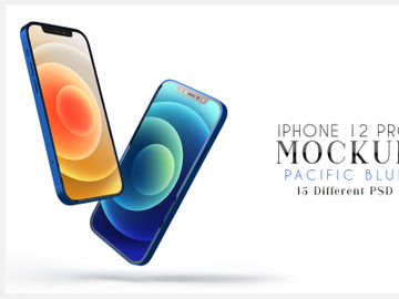 iPhone 12 Pro Mockups preview picture