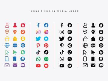 Icons & Social Media Logos preview picture