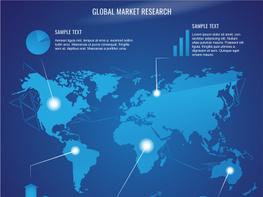 Futuristic World Map Design preview picture