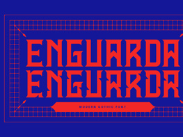 Enguarda Free Font preview picture