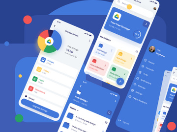 Google Drive App Redesign preview picture