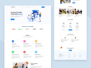 Enlition - SEO/Digital Agency Landing Page preview picture