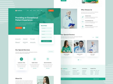Healthcare Landing Page preview picture
