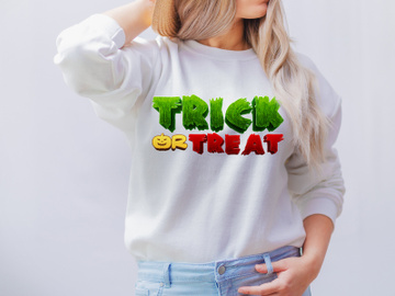 Trick or Treat PNG, Halloween Png, Halloween Sublimation preview picture