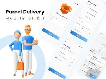 Parcel/Courier Delivery App Design preview picture