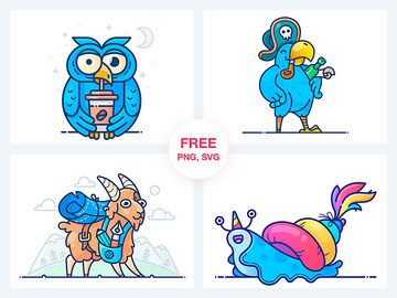 Stickers Freebie preview picture