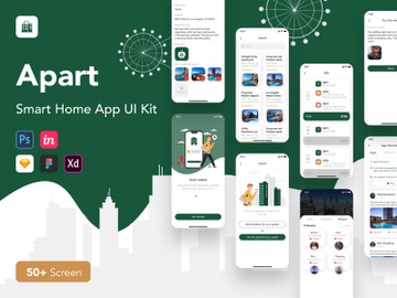 Apart - Smart Home UI Kit preview picture