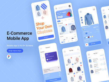 E-commerce Mobile App preview picture