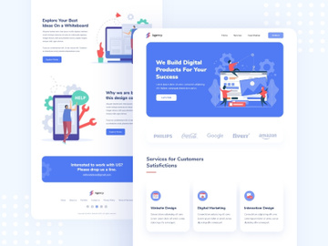 Agency Landing Page preview picture