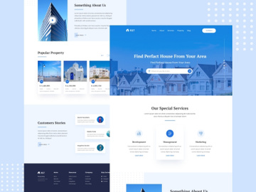 Real Estate Landing Page preview picture