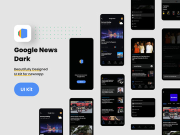Google News Dark preview picture
