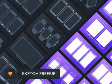 Free Outline Mockups for Wireframing preview picture