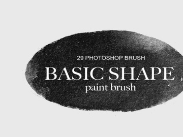 Free 29 Basic Shape Paint Photoshop Brushes preview picture
