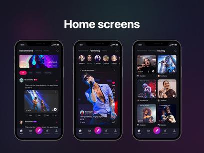 Social Karaoke Singing Mobile App