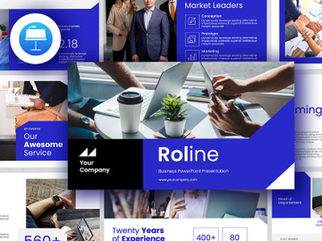 ROLINE Keynote Business Presentation preview picture