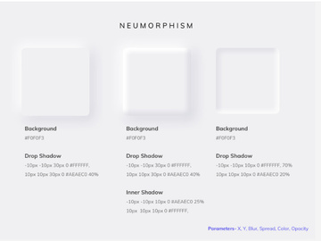 Neumorphism preview picture