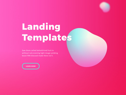 Free Landings - Neon nebula