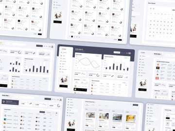 Property Management Dashboard UX UI Design preview picture