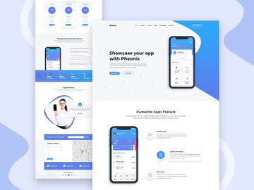 App Landing Page preview picture