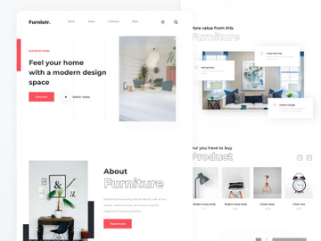 Furniture Website preview picture