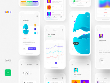 YOLK - iOS UI Kit preview picture