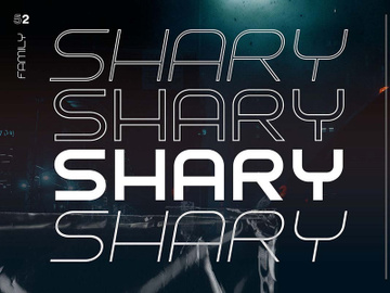 Shary Typeface – Free Version preview picture