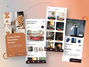 Home Decoration App Design preview picture