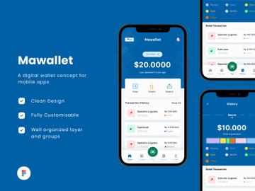Digital Wallet Mobile App - Mawallet preview picture