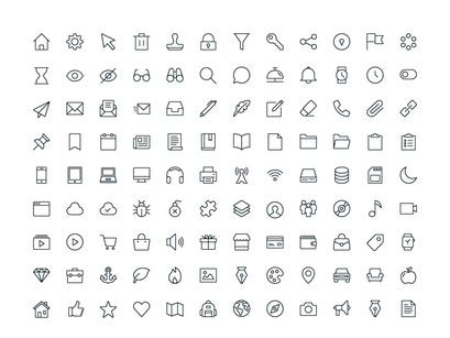 iOS Edge   Free Icon Set by Flaticons ~ EpicPxls