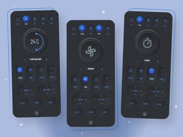 Smart Remote App Design preview picture