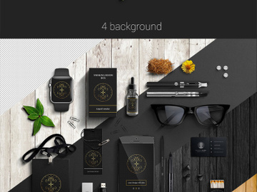Corporate Style PSD Mockup preview picture