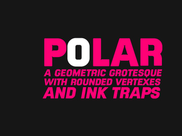 Polar Regular Free Typeface preview picture